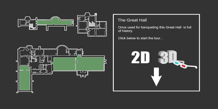 Adobe Flash 3D Virtual Tour