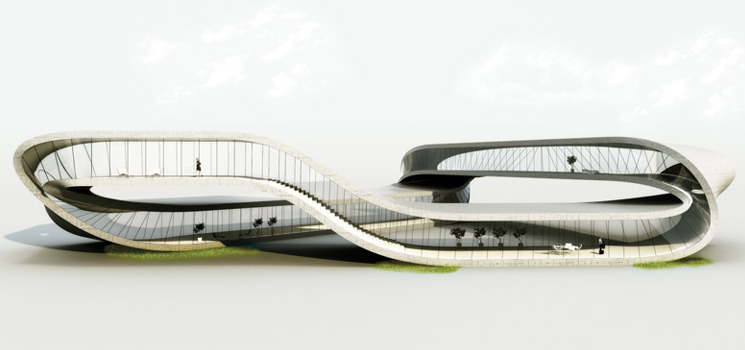 Mobius Strip 3D Printed House