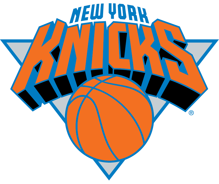 New York Knicks logo by Michael Doret