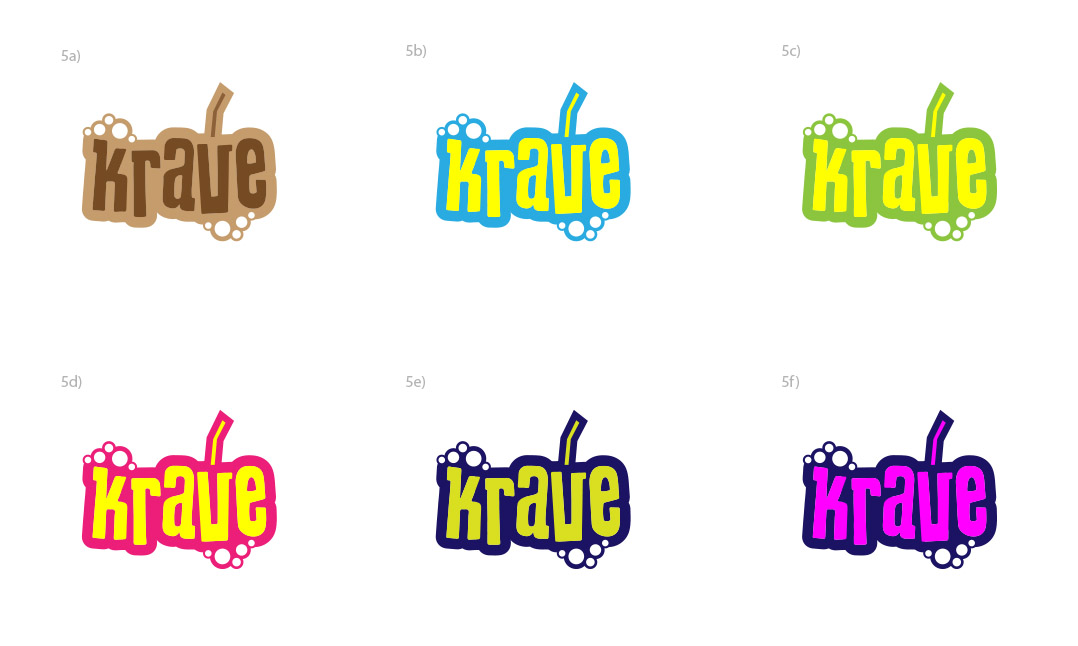 Krave logo colours