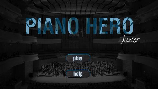 Piano Hero app design
