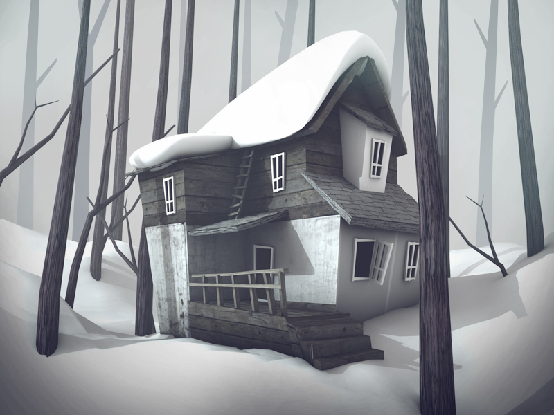 Old House Winter