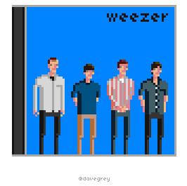 Weezer pixel art