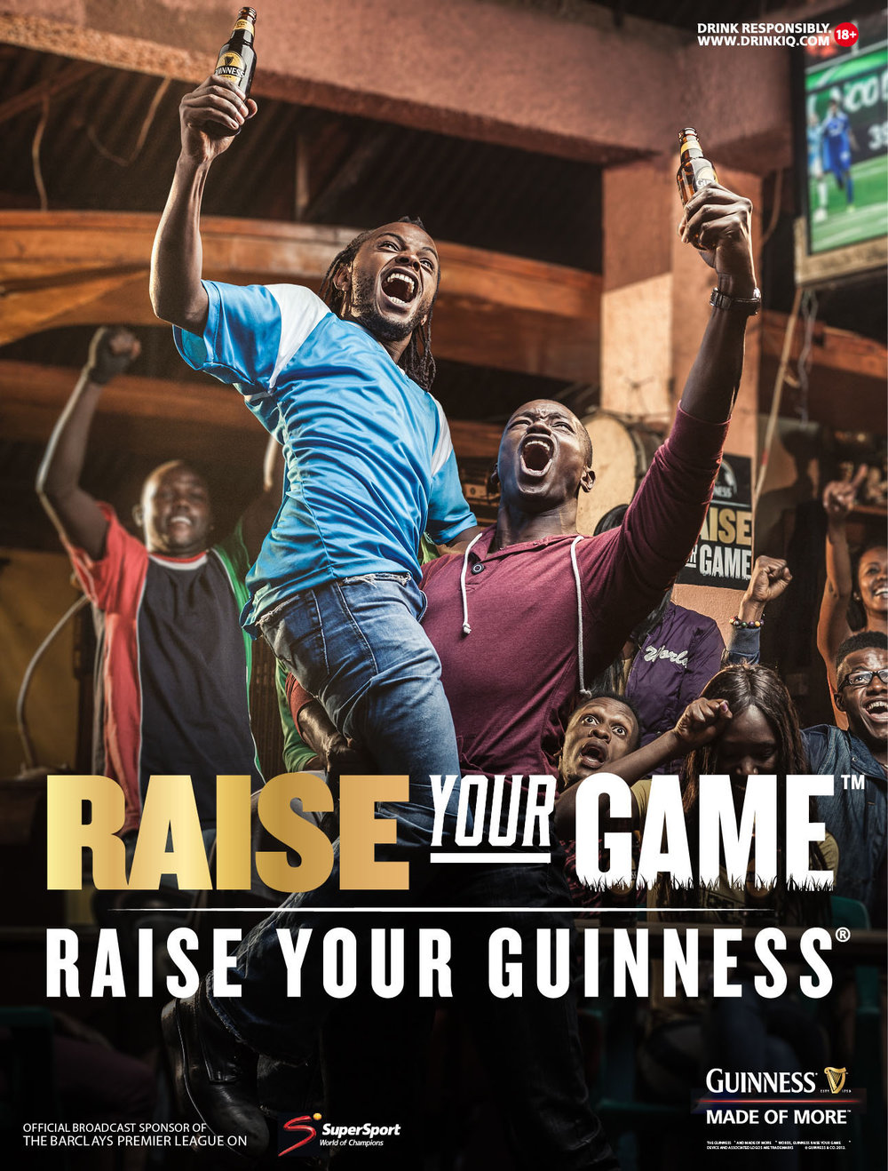 Guiness - Raise your Game