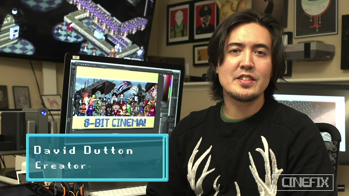 David Dutton - 8-Bit Cinema