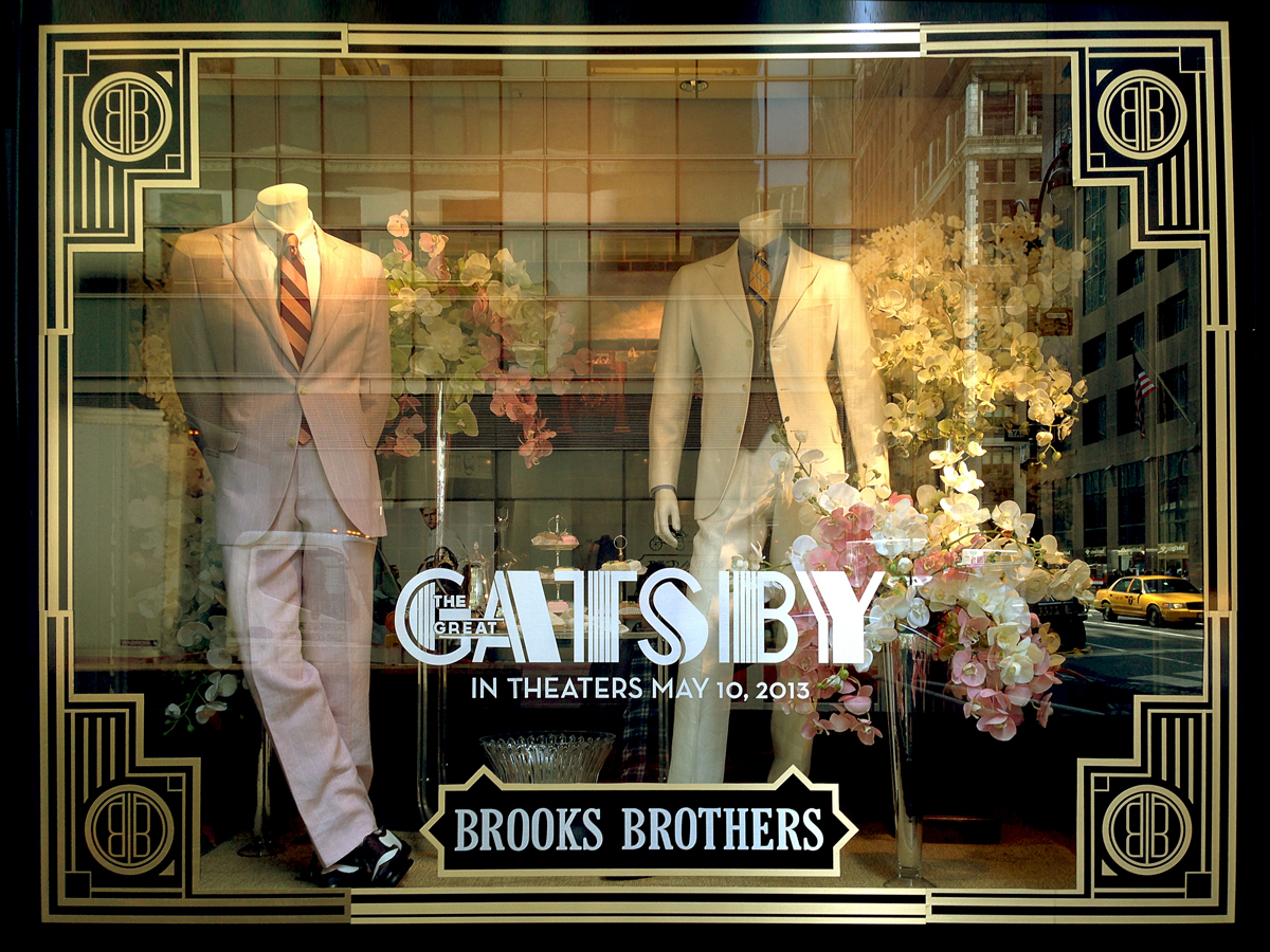 Great Gatsby in Brook Brothers
