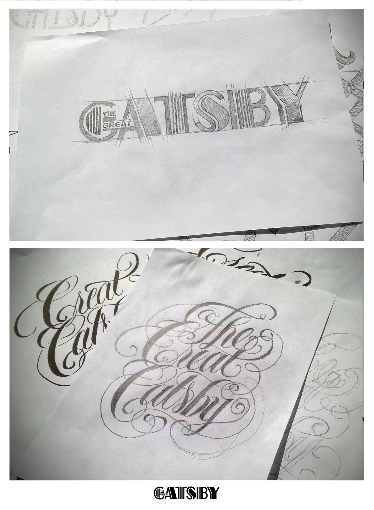 Great Gatsby Logo Concept
