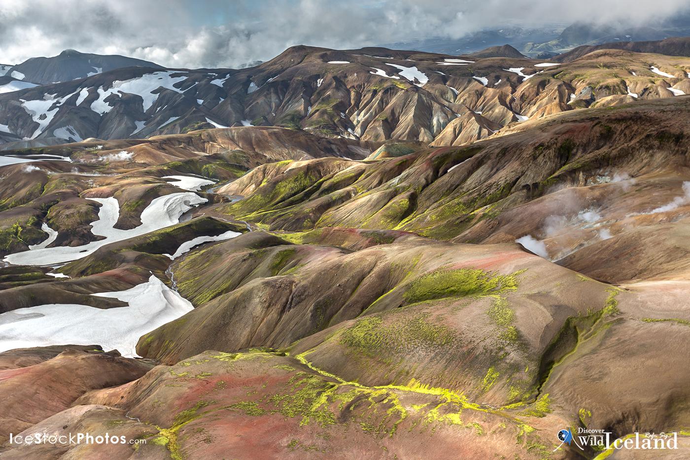 Discover Wild Iceland - Landscape from Hrafntinnusker