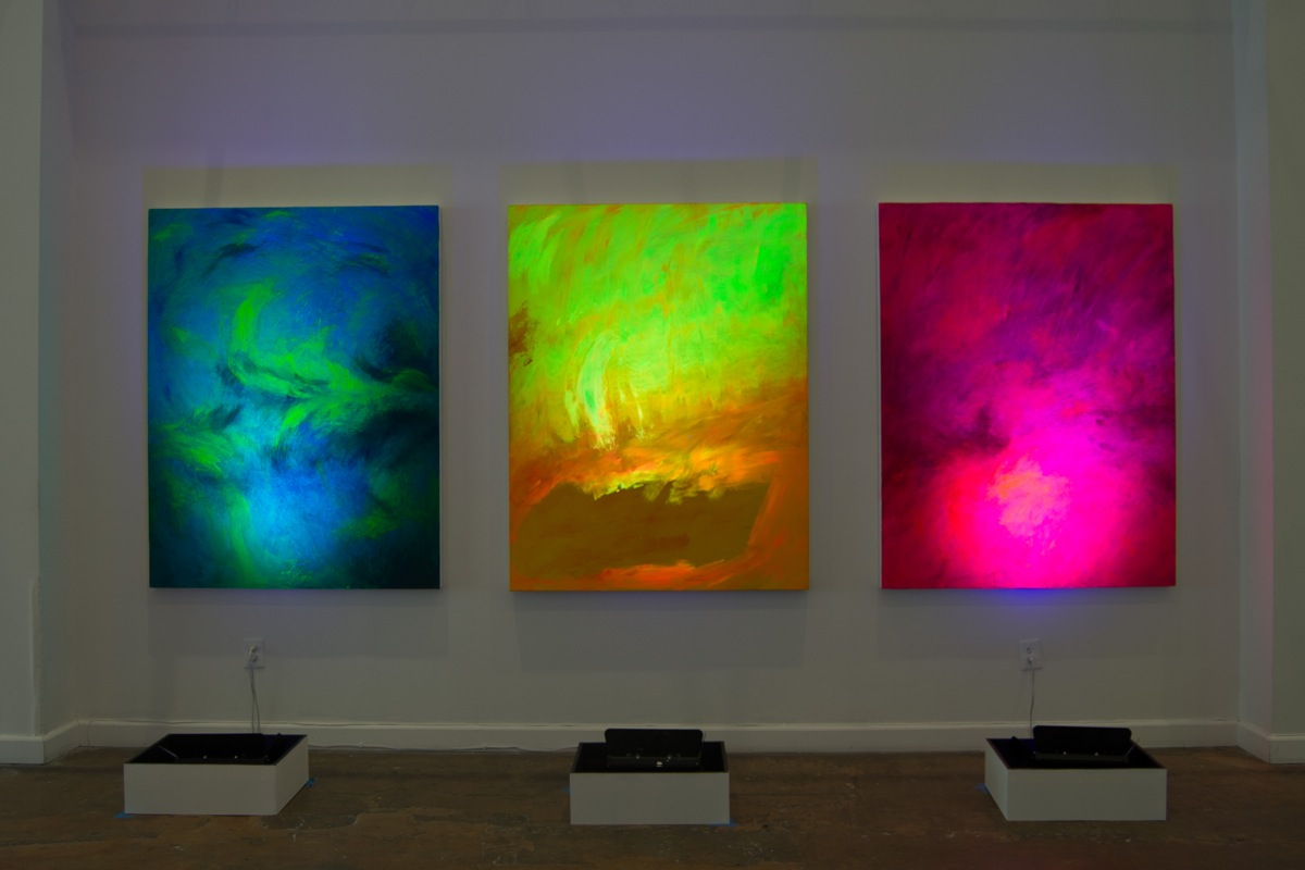 Spectralscape Triptych 2014 - Lily Simonson