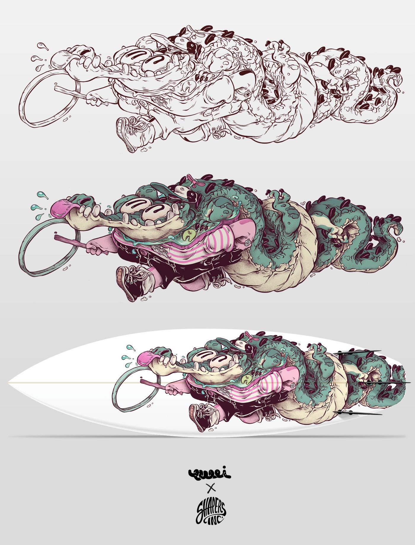 T Wei - Alligator Child