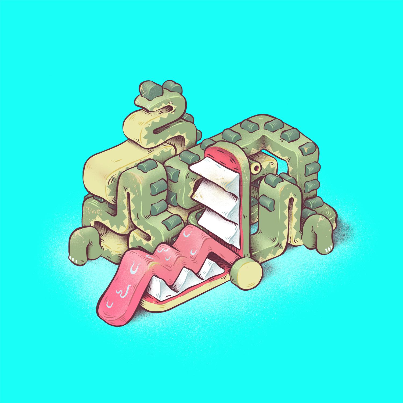 wooden croc
