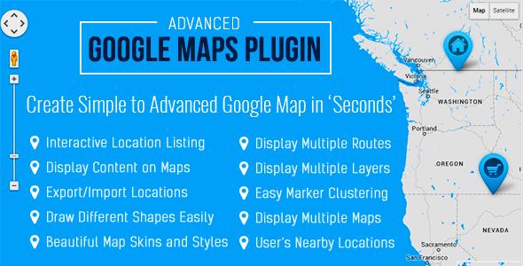 WP Google Map Pro