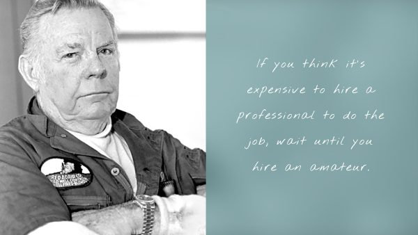 Hire a professional - Featured