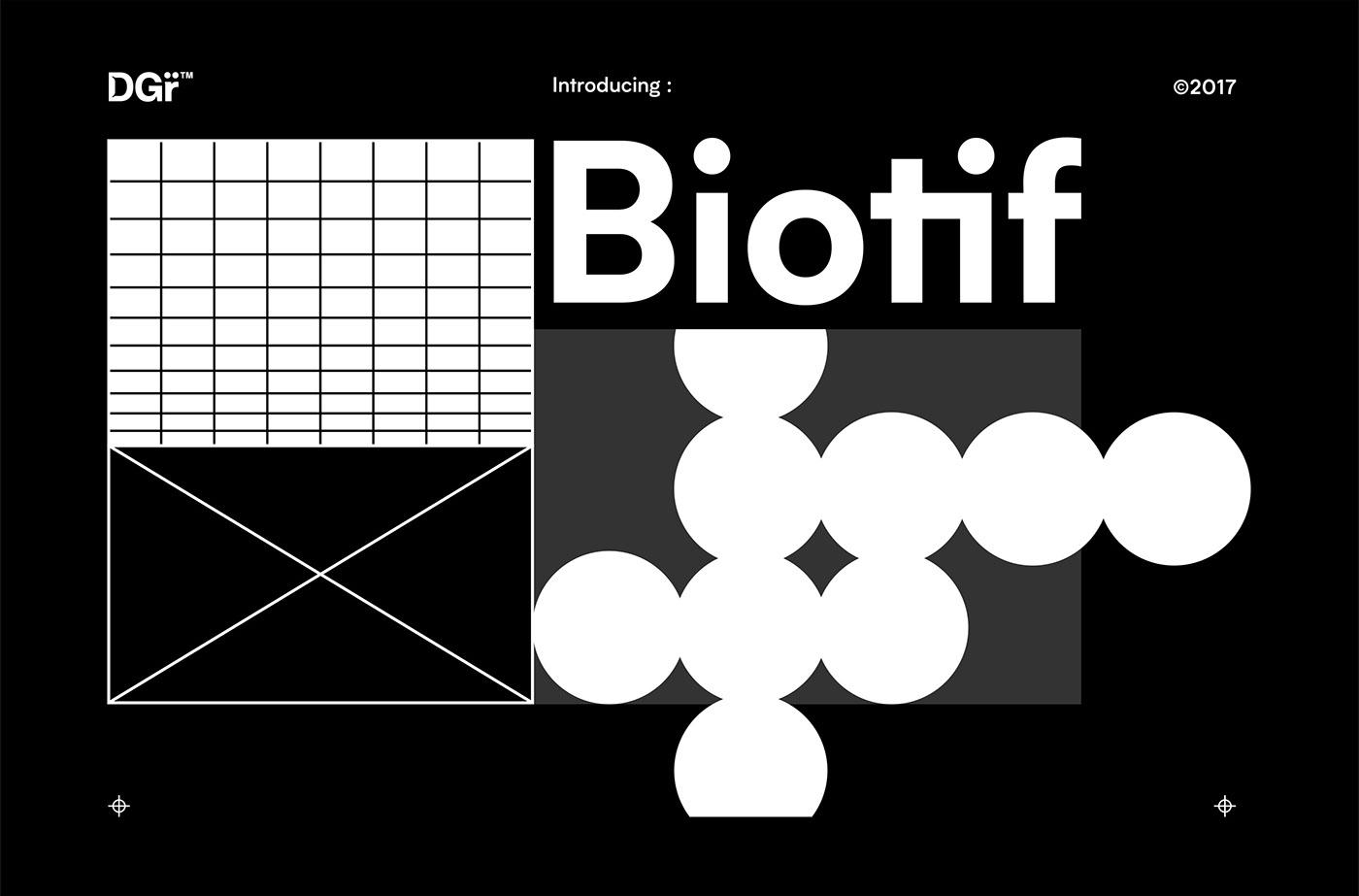 Biotif Typeface - Deni Anggara