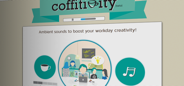 Coffitivity Screenshot