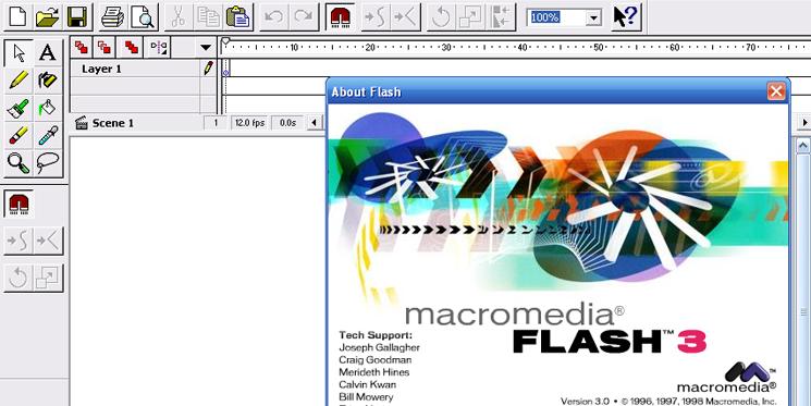 Good Old Macromedia Flash 3