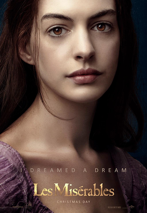 les miserables poster anne hathaway