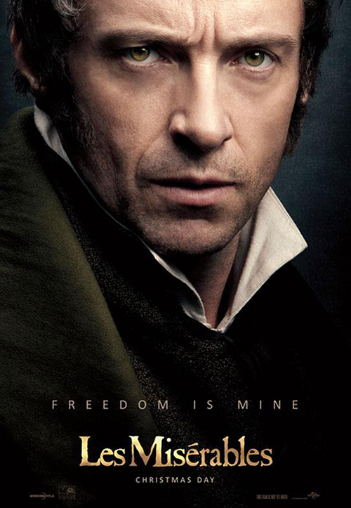 les miserables poster hugh jackman