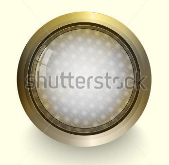 vector gold rim