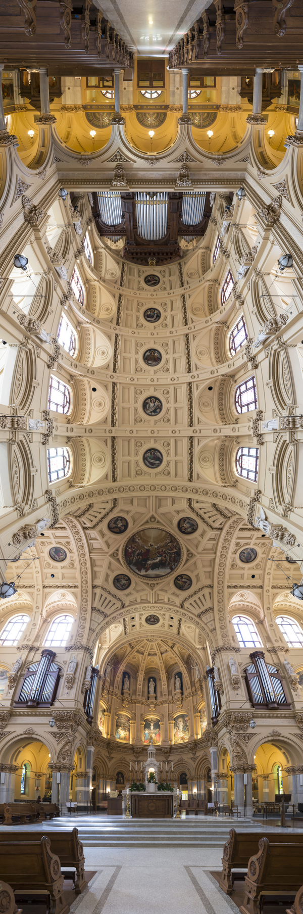 Vertical Panorama by Richard Silver