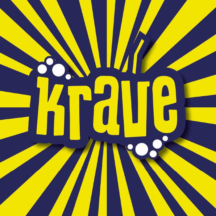 Krave logo design