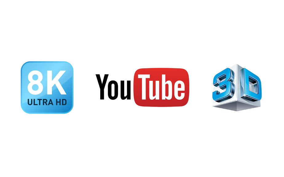 8k 3D YouTube Video