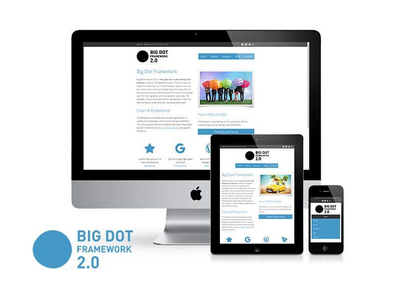 Big Dot Framework 2.0 Featured